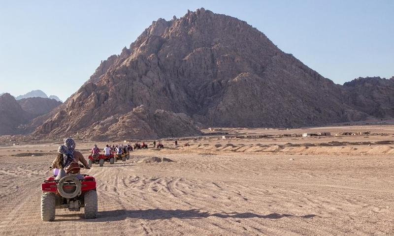 السياحة في مصر: جنوب سيناء وجهة المغامرين