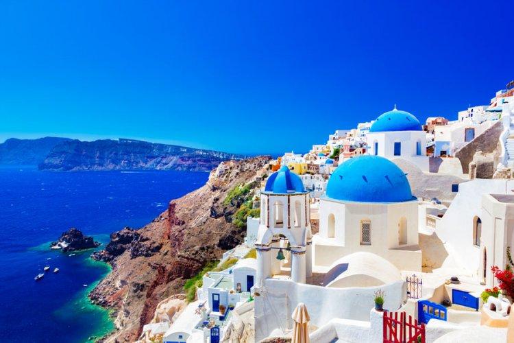 سانتوريني، اليونان Santorini, Greece
