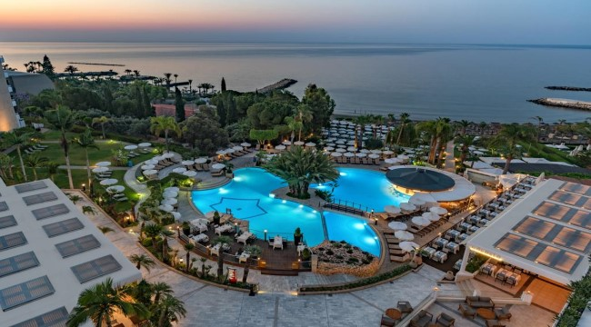 6 ايام 5 ليالي  Poseidonia Beach  شامل الافطار Limassol Cyprus