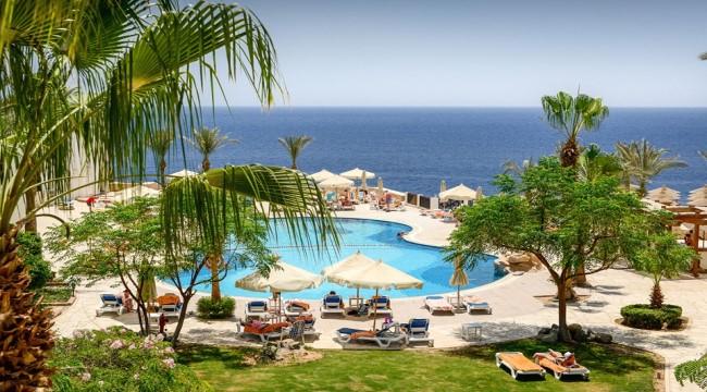فندق شرم بلازا اكوا بارك منتجع 5 نجوم صف اول علي البحر 4 ايام و3 ليالي.