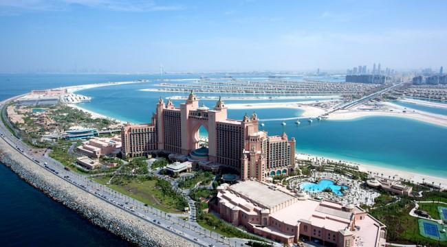 مدينة دبي والأتلانتس