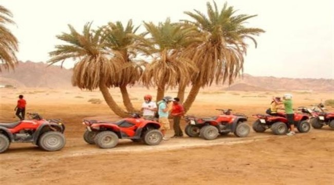 Sunset Quad Biking in Hurghada