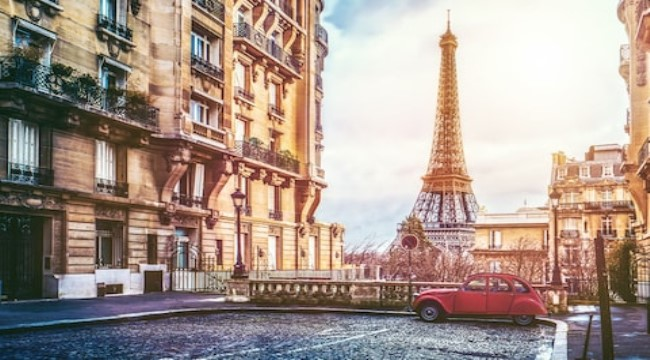 France – Paris / Honey mooners